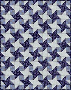 Milky Way Quilt Pattern