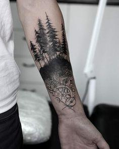 Forest Tattoo by fenyarttattoo 40 Creative Forest Tattoo Designs and Ideas J. Klemmasaki joergklemm Tattoos Forest Tattoo by fenyarttattoo J. Klemmasaki Forest Tattoo by fenyarttattoo joergklemm 40 Creative Forest Tattoo Designs and Ideas Forest Tattoo Sleeve, Forest Forearm Tattoo, Tree Tattoo Arm, Forearm Tattoos, Arm Band Tattoo, Body Art Tattoos, New Tattoos, Sleeve Tattoos, Tattoos For Guys