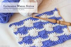 How To: Crochet The Catherine Wheel Stitch - Easy Tutorial