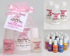 Awesome! Kids nail polish for wiggly toddlers and babies.  Non toxic, no odor and dries in 60 seconds