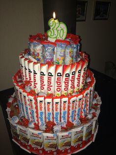 Süßigkeiten Torte