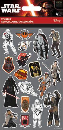 SWTFA Star Wars Stickers (4 sheets) 3a52e71a301a1