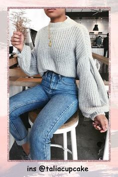 28109b2049 504 Best Chunky Sweaters. images in 2019