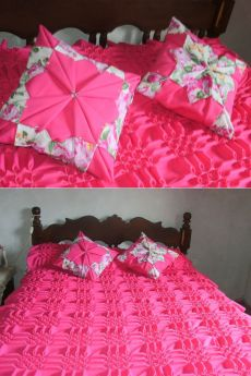facebook.com Smocking Tutorial, Smocking Patterns, Bed Cover Design, Designer Bed Sheets, Diy Crafts Crochet, Curtain Designs, Cushions, Pillows, Bed Covers