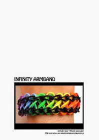 Kopje Thee(a): Rainbow Loom PDF Instructies: Infinity armband Friendship Bracelet Patterns, Friendship Bracelets, Loom Bands Instructions, Rainbow Loom, Minions, Easy, Projects, Blogging, Bracelet