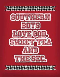 Southern Boys...