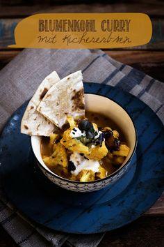 {Quick Weekday Dinner} Ein easypeasy Blumenkohl Curry mit Kichererbsen - Seelenschmeichelei