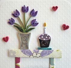 Custom Birthday Card by quillynilly, via Flickr