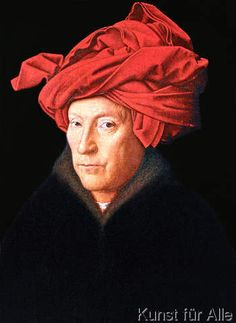 Jan Van Eyck - A Man in a Turban, 1433