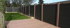 100% Recyclable WPC Fence Products