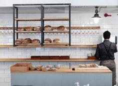 A lovely bakery interior.