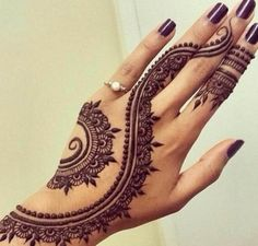 Beautiful Hands Henna Designs for Eid
