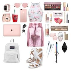 💖A cute outfit for the first day of school!💖 by blairemclelland on Polyvore featuring polyvore, Topshop, Miss KG, JanSport, Ray-Ban, Anastasia Beverly Hills, Urban Decay, Givenchy, Too Faced Cosmetics, Benefit, Stila, Unicorn Lashes, tarte, H&M, Boohoo, Fujifilm, fashion, style and clothing