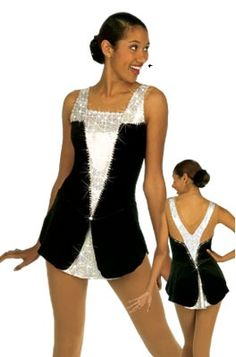 tuxedo skating dress - Google Search