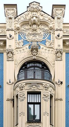 Riga Jugendstil 09 Alberta iela 8 | Flickr - Photo Sharing!