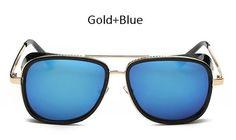 1aa28878a3 Fashion IRON MAN 3 Matsuda TONY Steampunk Sunglasses Men Women Sun Glasses