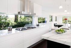 Modern Kitchen Oatley | Art of Kitchens (2188) Big long kitchen drawers.