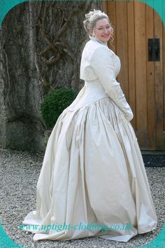 Uptight clothing39sacred oak39 stunning couture period for Anomalie wedding dress