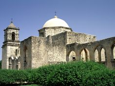 Mission San Jose - San Antonio, TX where I attended Mass as a high schooler