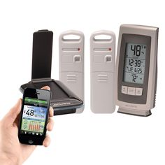 Wireless Temperature and Humidity Sensors | Mobile App | AcuRite