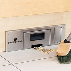 Amazon.com - Sweepovac Built in Kitchen Vacuum for Below Cabinets and Toe Kick Spaces -