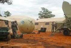 My Balls Are Talking To You: The Pentagon Wants to Communicate With Big Inflatable Balls.