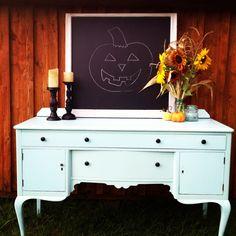 Repurposed furniture and home decor