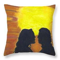 Want to buy this pillow? Click on the title or follow this link:  https://fineartamerica.com/featured/sunset-love-ali-baucom.html?product=throw-pillow