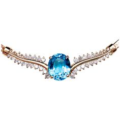 BCS SALE! 14k Topaz Diamond Necklace - Stunningly Beautiful &amp…Reduced by $900 for our BELOW COST SALE. Ends Sunday. Now only $798
