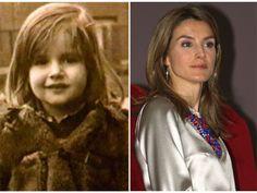 Letizia Ortiz, antes y ahora