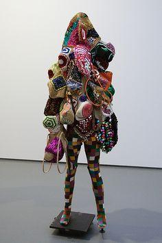 Nick Cave (Fulton, Missouri, 1959) - Soundsuits, 2009  Museum Boijmans Van Beuningen, 2009