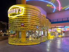 Denny's with a wedding chapel in Las Vegas.