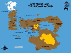 Game Of Thrones World Map Pdf New Westeros With 4