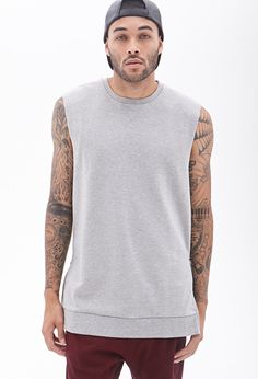 French Terry Muscle Tee #21Men