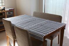 Scandinavian Tablecloth 北欧フィンランド ArtekテーブルクロスSienaブラック インテリア 雑貨 家具 Modern ¥5500yen 〆05月20日