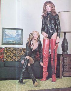 Kinky goth redhead mistress