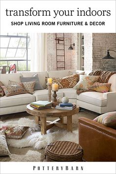 From Pottery Barn · Picture Your Ideal Living Room. Whether Itu0027s A Cushy  Home Theater, A Classic Arrangement