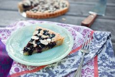 Mulberry Almond Frangipane Tart by @Shaina Olmanson | Food for My Family