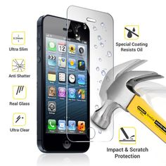 Apple iPhone 7 Plus & 8 Plus Tempered Glass Screen Protector Apple Iphone 5, Iphone 5s, Iphone 6 S Plus, Glass Protector, Tempered Glass Screen Protector, Iphone Tempered Glass, Iphone 6 Screen Protector, Screen Film, Galaxy Note 3
