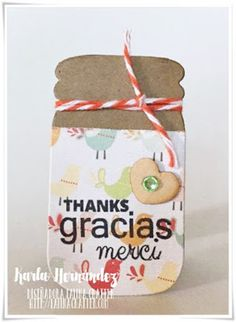 "I ♥ SCRAP: Blog Hop ""Gracias"" con Latina Crafter"