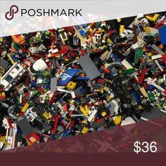 Lego 3 Pound Three LBS Of Clean Gently Used Genuine Legos Bulk Lot.