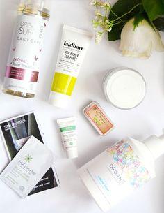 Natural / Organic Skincare Haul & First Impressions