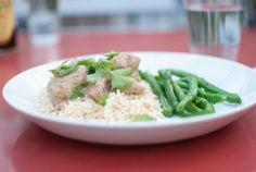 Easy chickenkorma, yum!