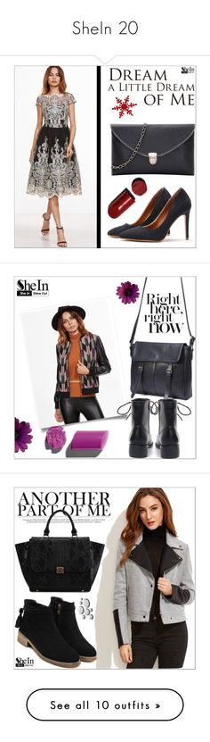 """""""SheIn 20"""" by goldenhour ❤ liked on Polyvore featuring Yves Saint Laurent, Bomedo, Bobbi Brown Cosmetics, J Brand, WithChic, MAC Cosmetics, Natural Life, Deborah Lippmann, Citizens of Humanity and Dolce&Gabbana"""