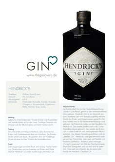 Hendrick´s Distilled Dry Gin / Gin Review