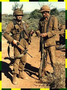 LMG Conventional phase... Military Photos, Military History, Military Archives, Union Of South Africa, South African Air Force, Army Day, British Armed Forces, Brothers In Arms, Defence Force