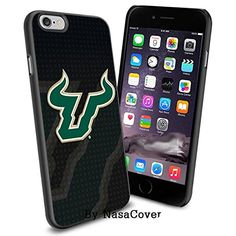 NCAA University sport South Florida Bulls , Cool iPhone 6 Smartphone Case Cover Collector iPhone TPU Rubber Case Black [By NasaCover] NasaCover http://www.amazon.com/dp/B0140MWAH4/ref=cm_sw_r_pi_dp_C3j2vb0GKPQ38
