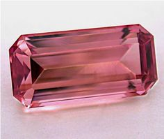 Vintage PINK TOURMALINE Faceted Loose Gemstone 698 by EurekaEureka