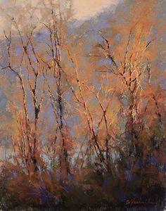 "Dancing in the Light par Barbara Jaenicke Pastel ~ 14 ""x 11"":"