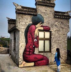 Street art & graffiti by Seth Globepainter (Julien Malland) - 6 3d Street Art, Murals Street Art, Urban Street Art, Amazing Street Art, Mural Art, Street Art Graffiti, Street Artists, Graffiti Artists, Wall Mural